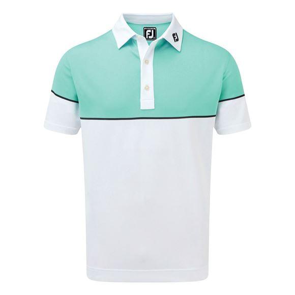 Picture of Footjoy Colour Block Stretch Pique Polo Shirt - 90094