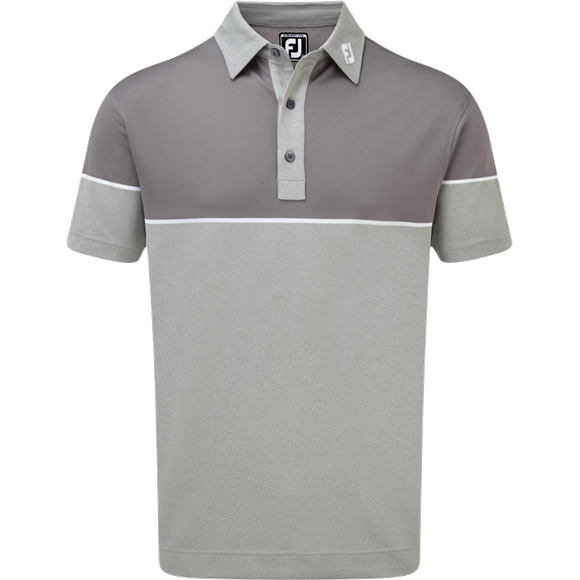Picture of Footjoy Colour Block Stretch Pique Polo Shirt - 90095