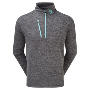 Picture of Footjoy Mens Heather Pinstripe Chill-Out Pullover - 90156
