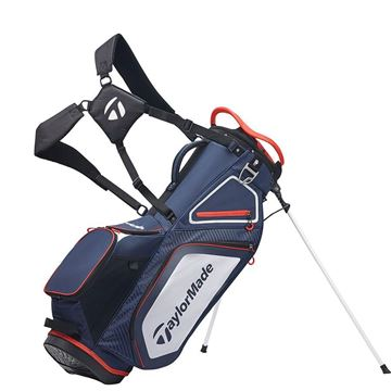 Picture of TaylorMade Pro 8.0 Stand Bag - Navy/White/Red
