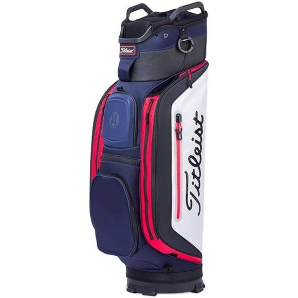 Picture of Titleist Club 14 Cart Bag - TB8CT6-416 Navy/White/Black