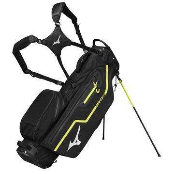 Picture of Mizuno BR-DRI Stand Bag 2019 - Black/Lime