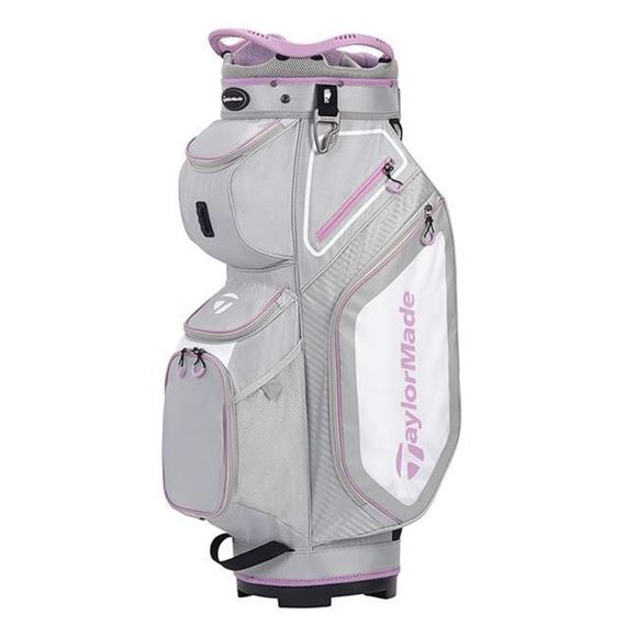 Picture of TaylorMade Pro Cart 8.0 Trolley Bag - Grey/Purple