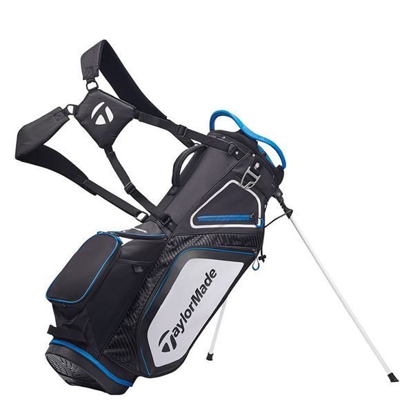 Picture of TaylorMade Pro 8.0 Stand Bag - Black/White/Blue