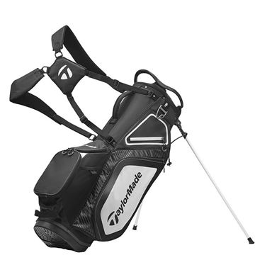 Picture of TaylorMade Pro 8.0 Stand Bag - Black/White/Charcoal