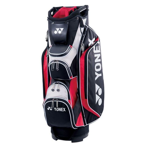 Picture of Yonex Cart Bag - Black/Red