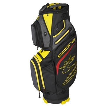 Picture of Cobra Ultralight UL20 Cart Bag - Black/Yellow