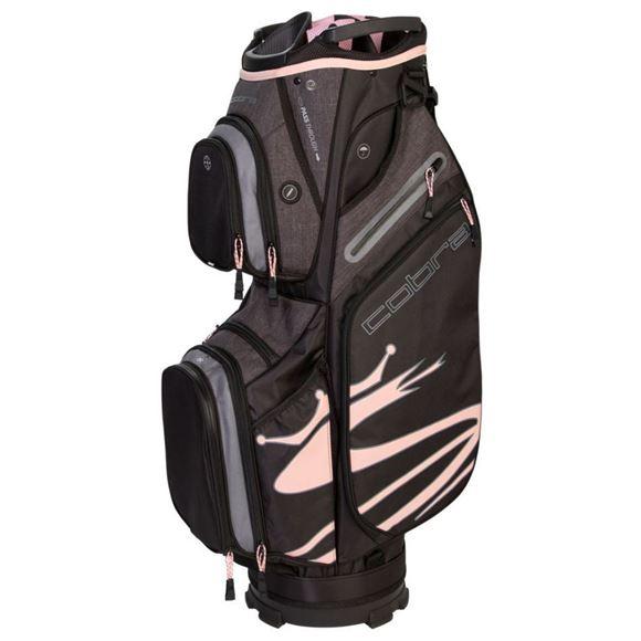Picture of Cobra Ultralight UL19 Cart Bag - Black/Pink