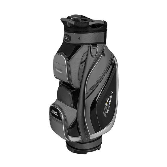 Picture of Powakaddy Premium Edition Cart Bag - Titanium/Black/Silver
