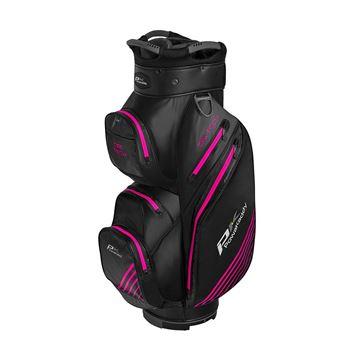 Picture of Powakaddy Dri Tech Waterproof Cart Bag - Black/Pink
