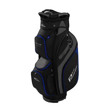 Picture of Powakaddy DLX-Lite Edition Cart Bag - Black/Blue