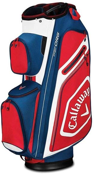 Picture of Callaway Chev Org 2019 Cart Bag - Navy/White/Red - 5119011