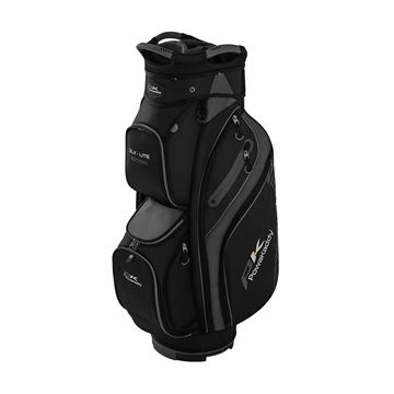 Picture of Powakaddy DLX-Lite Edition Cart Bag - Black/Titanium/Silver