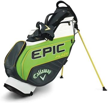 Picture of Callaway Epic Flash Staff Stand Bag 2019 - Green/Charcoal/White - 5119219