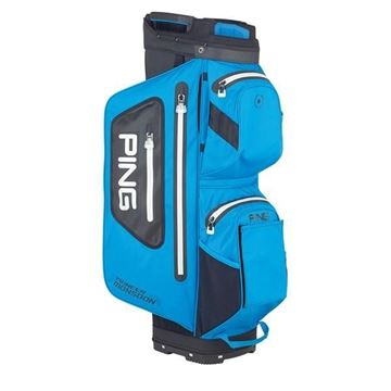Picture of Ping Pioneer Monsoon Cart Bag 2020 - Azure Blue/Black - 34742-04