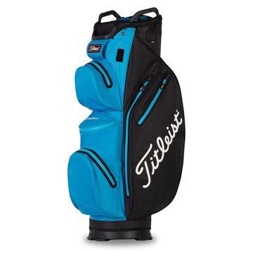 Picture of Titleist StaDry Waterproof Cart Bag 2021 - Black/Dorado