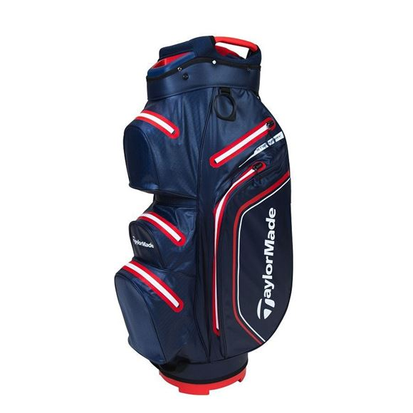 Picture of TaylorMade Storm Dry Waterproof Cart Bag - Navy/Red