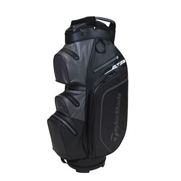 Picture of TaylorMade Storm Dry Waterproof Cart Bag - Black/Charcoal
