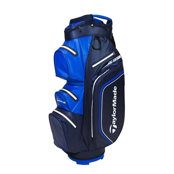 Picture of TaylorMade Storm Dry Waterproof Cart Bag - Navy/Blue