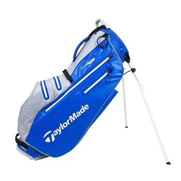 Picture of TaylorMade FlexTech 2021 Waterproof Stand Bag - Royal/Silver