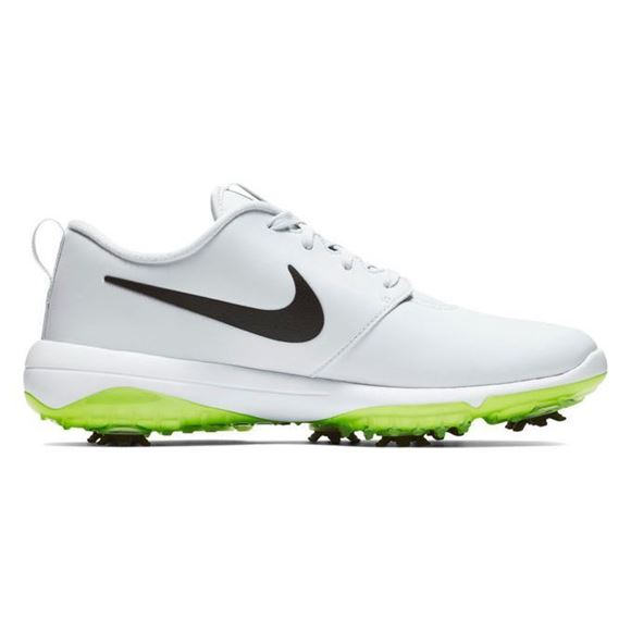 Picture of Nike Roshe G Tour Golf Shoes - Platinum/Green