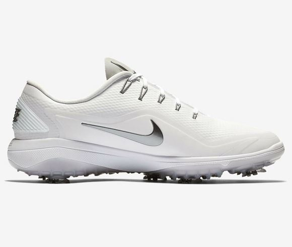 Picture of Nike React Vapor 2 Golf Shoes - White/Grey