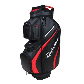 Picture of TaylorMade Deluxe Cart Bag - Black/Red
