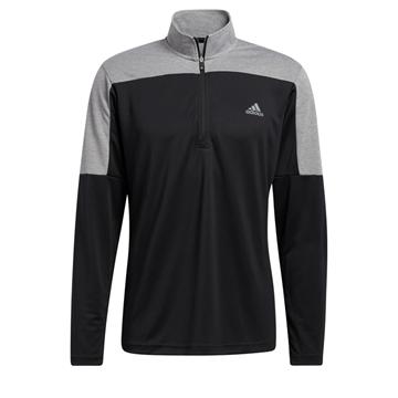 Picture of adidas Mens Sport 1/4 Zip UPF Lightweight Sweater - GR0758