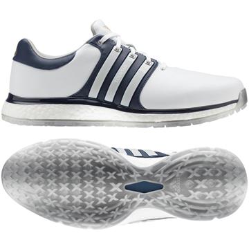Picture of adidas Mens Tour 360 XT-SL Golf Shoes - White/Blue
