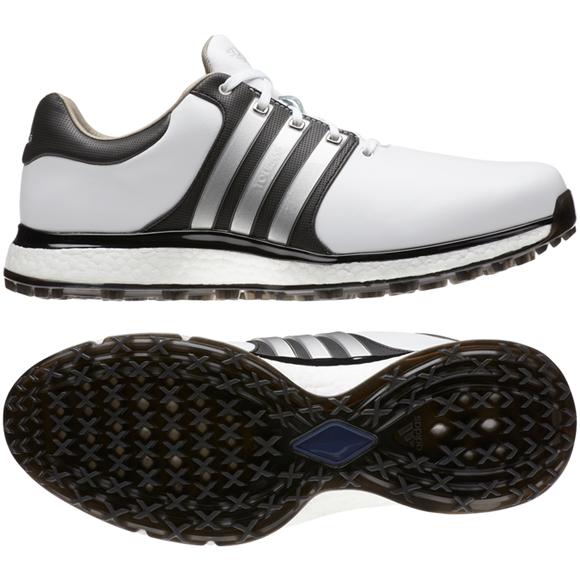 Picture of adidas Mens Tour 360 XT-SL Golf Shoes - White/Black