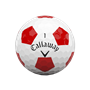 Picture of Callaway Chrome Soft Truvis Golf Balls 2021 White/Red
