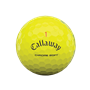 Picture of Callaway Chrome Soft Golf Balls 2021 Yellow Triple Track