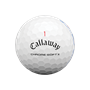 Picture of Callaway Chrome Soft X Golf Balls 2021 White Triple Track