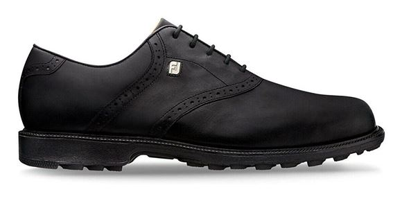 Picture of Footjoy Mens Club Professionals Golf Shoes - 57007 - Black
