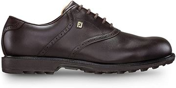 Picture of Footjoy Mens Club Professionals Golf Shoes - 57005 - Dark Brown