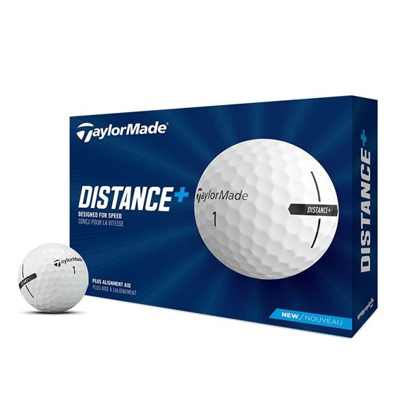 Picture of TaylorMade Distance + Golf Balls - White