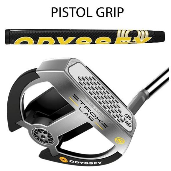 Picture of Odyssey Stroke Lab 2-Ball Fang S Putter - Pistol Grip