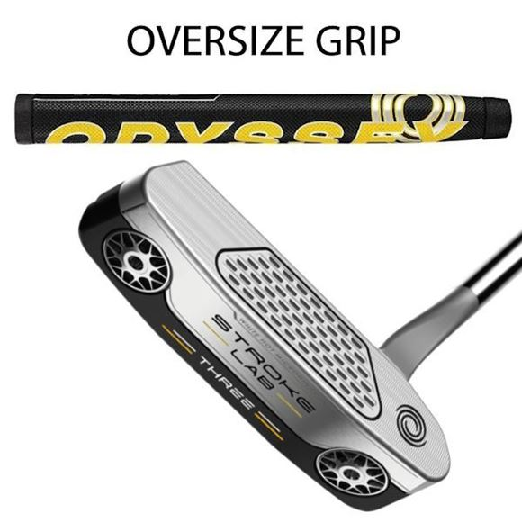 Picture of Odyssey Stroke Lab THREE Putter - Oversize Grip