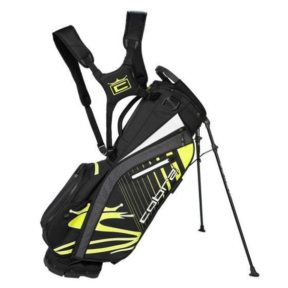 Picture of Cobra Ultralight Stand Bag 2021 - Black/Yellow