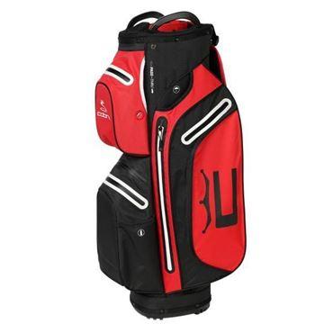 Picture of Cobra Ultradry Pro Waterproof Cart Bag 2021 - Black/Red