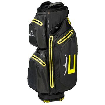 Picture of Cobra Ultradry Pro Waterproof Cart Bag 2021 - Black/Yellow