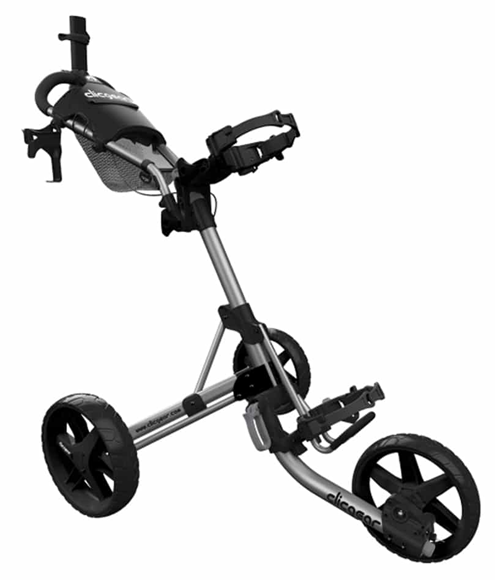 Picture of Clic Gear 4 Trolley - Silver Frame and Black Wheels
