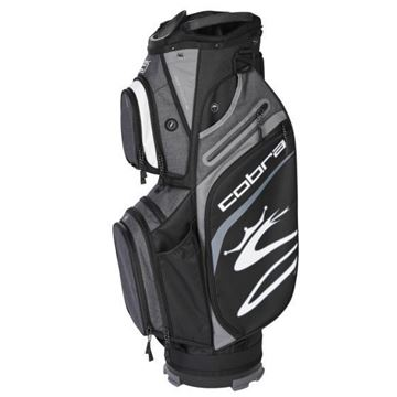 Picture of Cobra Ultralight Cart Bag 2021 - Black/Grey