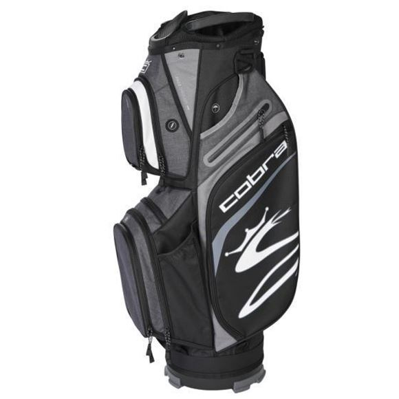Picture of Cobra Ultralight Cart Bag 2021 - Black/Grey