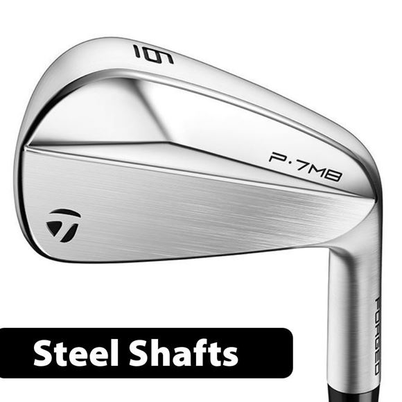 Picture of TaylorMade P7 MB Irons **Custom Built** Steel Shafts