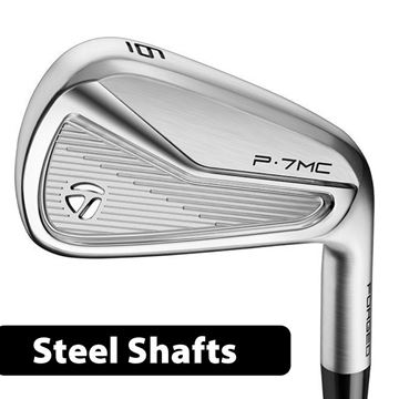 Picture of TaylorMade P7 MC Irons **Custom Built** Steel Shafts