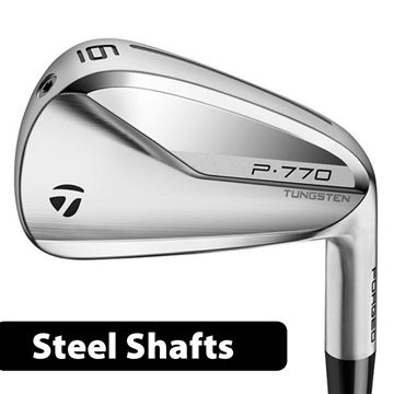 Picture of TaylorMade P770 Irons **Custom Built** Steel Shafts