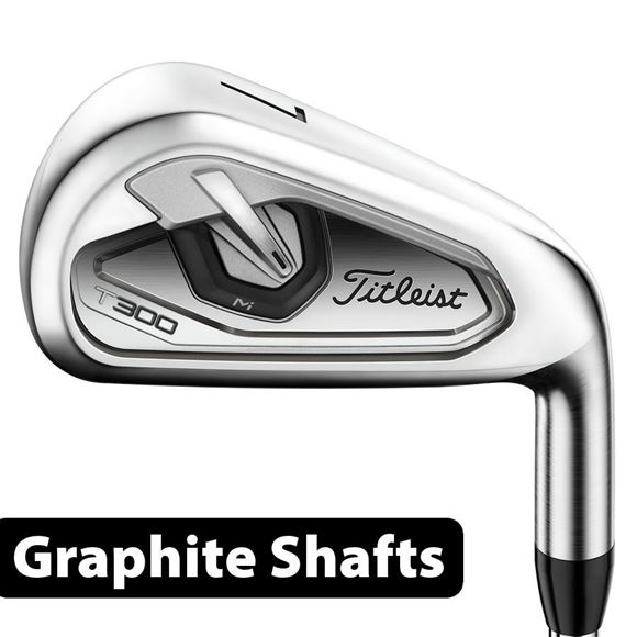 Picture of Titleist T300 Irons - Graphite Shafts **Custom Built**