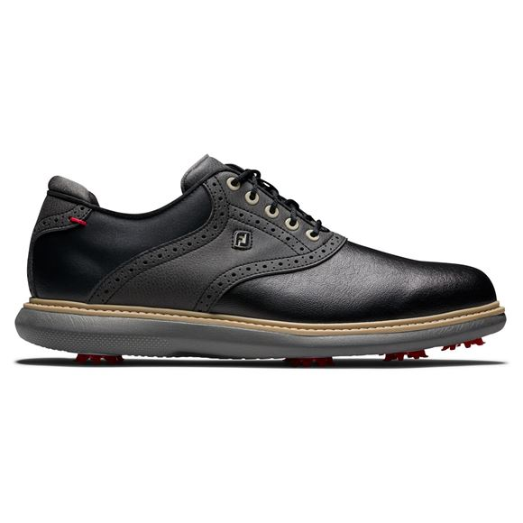 Picture of Footjoy Mens FJ Traditions 2021 Golf Shoes - 57904