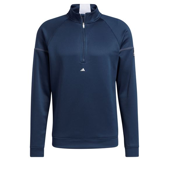 Picture of adidas Mens Equipment 1/4 Zip Sweater - GV1813
